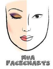 MUA Facecharts : Megan by Emma Walkerson (2017, Paperback)