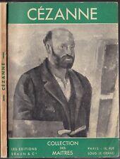 CÉZANNE Collection des Maîtres Ex Libris Marcel MORAND REIFF N°814 Illustré 1936
