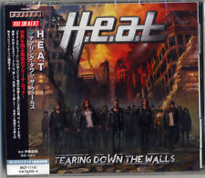 H. E. A. T-Tearing Down The Walls-Japan CD F83