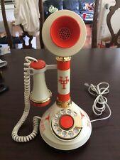 CANDLESTICK TELEPHONE - UNIVERSITY OF TEXAS LONGHORNS  ********GREAT SHAPE******