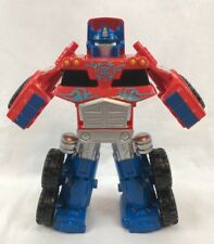 Playskool Transformers Rescue Bots Optimus Prime from Rescue Trailer