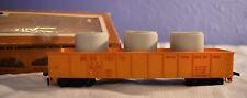 Vintage Tyco #341-B HO Scale Union Pacific X159 Gondola w/ Pipe Load Train Car