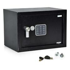 STRONG SECURE DIGITAL SAFE BOX Dual Security Steel Door Locking Bolts