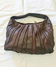 Bottega Veneta Brown Pebbled Leather Paneled Single Handle Hobo Bag 74de86989af0a