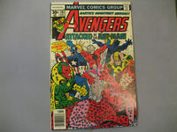 The Avengers #161 (Jul 1977, Marvel) Mid Grade