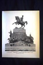 D. Calandra - Monumento al principe Amedeo Duca d'Aosta (Torino)