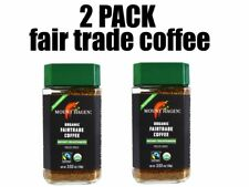 New listing Mount Hagen, Organic Fairtrade Coffee, 2 Pack, Instant Decaffeinated, 100 g each