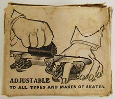 Skate Sharpener Original Box Vintage Berghman 1920's Maywood Illinois