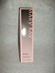 Mary Kay CC Cream Sunscreen Broad Spectrum SPF 15-Light 2 Medium Exp 7/21