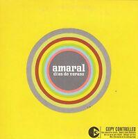 AMARAL DIAS DE VERANO CD SINGLE PROMO CARPETA CARTON