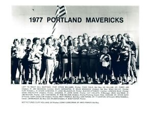 1977 PORTLAND MAVERICKS 8X10 TEAM PHOTO BASEBALL PICTURE PCL