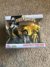 Power Rangers Legacy SABERTOOTH TIGER ZORD YELLOW Figure NIP Sealed NEW