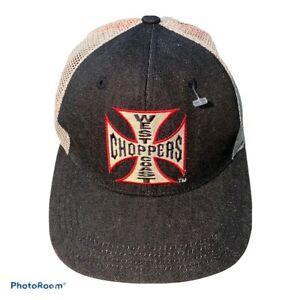 West Coast Choppers Trucker Hat Flex Fit, New Without Tags, Jesse James.