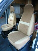 TO FIT A FIAT DUCATO MOTORHOME,PAIR OF SEAT COVERS, PENELOPE MH-493