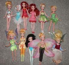 Disney Fairies sparkle party Tinkerbell rosetta, Doll Lot  11 Dolls Periwinkle