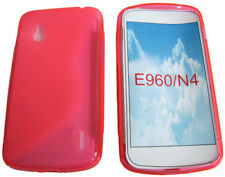 for LG Google Nexus 4 E960 N4 Pattern GEL Soft Case Protector Cover Pouch Pink