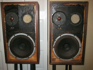 VINTAGE ACOUSTIC RESEARCH AR-2ax SPEAKERS Tested
