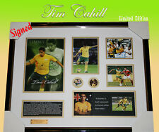 TIM CAHILL SIGNED MEMORABILIA LIMITED EDITION  FRAMED