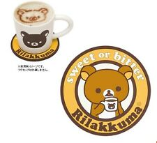 San-X Rilakkuma Relax Bear Soft Rubber Cup Mug Mat Tableware Accessories