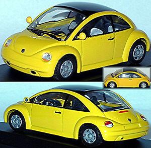 VW Volkswagen Concept Car Beetle Saloon 1994 Yellow 1:43 Minichamps
