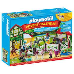 Playmobil Advent Calendar 'Horse Farm' with Flocked Horse - Full of Figurines