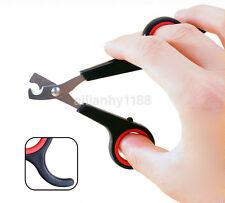 High Quality Pet Dog Cat Nail Clippers Cut Nail Scissors Toe Trimmer Scissors CA