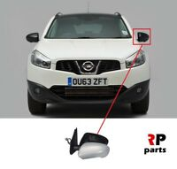 FOR NISSAN QASHQAI 2007-2014 NEW WING MIRROR ELECTRIC HEATED PRIMED 5 PIN LEFT