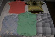 LOT OF 4 EXPRESS Mens Large Shirts Polo Oxford Dress NEVER WORN