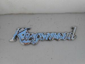 HX HZ Holden Kingswood Badge