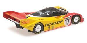 MINICHAMPS 856509 866501 or 876517 PORSCHE 962C model car Shell Blaupunkt 1:18th