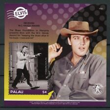 Palau 2017 MNH Elvis Presley His Life in Stamps W.C. Handy Award 1v S/S I