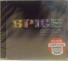 SPICE GIRLS - GREATEST HITS (OFFICIAL UKRAINIAN RELEASE) CD+DVD New, sealed