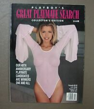 Playboy Press~ Great Playmate Search / Collector's Edition ~1994 Special Edition