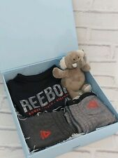 Reebok gift set for 1st First Birthday Newborn baby boy Christening 12 /18 month