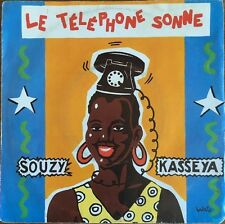 "Souzy Kasseya - Le Telephone Sonne  - Vinyl 7"" 45T (Single)"