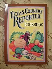 TEXAS COUNTRY REPORTER COOKBOOK Bob Phillips SC 1990 Very Good Clean