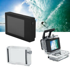 LCD Display Monitor + Waterproof Backdoor Housing Case EB For Gopro Hero 4 3+