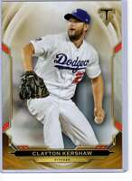 Clayton Kershaw 2019 Topps Triple Threads 5x7 Gold #4 /10 Dodgers