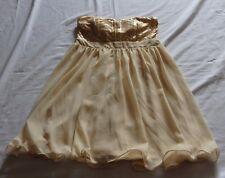 Ladies Size 14 Strapless Party Dress BLINQ  sequins NEW