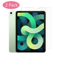 2x for iPad Air 4th Generation (10.9 2020) Tempered Glass Screen Protector Cover