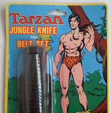 Tarzan Jungle Knife & Belt Set 1979 in orig. Blister OVP