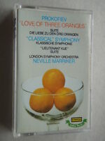 Romantique Serge Prokofiev Love Of Three Oranges Marriner Tape Cassette