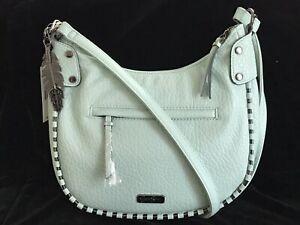 "JESSICA SIMPSON Selena Crossbody Handbag Purse 11""W x 9""H -Yucca NWT $88"
