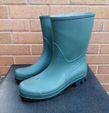 Tronchetto Womens UK Size 8 Green Wellington Boots