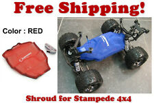 Traxxas Stampede 4X4 ESC Receiver Chassis Shroud by Outerwears 20-2656-03 RED
