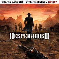 Desperados 3 III PC Digital Deluxe Edition Steam OFFLINE - READ DESCRIPTION