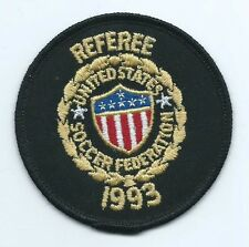 United States Soccer Federaton 1993 Referee patch 3 in dia
