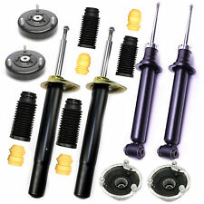 4 Stoßdämpfer Gasdruck + Domlager + 4x Staubschutz - BMW 5er E39