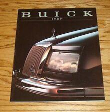 Original 1989 Buick Full Line Sales Brochure 89 Riviera Park Avenue LeSabre