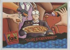 1995 Fleer Ultra Fox Kids Network #21 Hors D'oeuvres? Non-Sports Card c7w